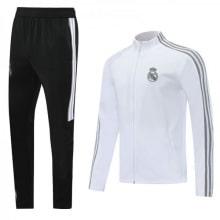 Бело-черный костюм Реал Мадрид 2020-2021