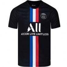 Четвертая игровая футболка ПСЖ 2019-2020 JORDAN