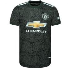 Гостевая аутентичная футболка Манчестер Юнайтед 2020-2021