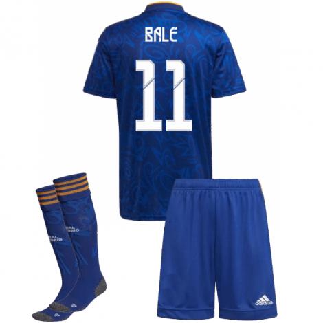 Детская гостевая футбольная форма Бэйл 2021-2022