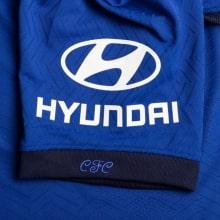Домашняя аутентичная футболка Челси 2020-2021 рукав