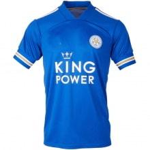 Домашняя игровая футболка Лестер Сити VARDY 20-21 номер 9 спереди