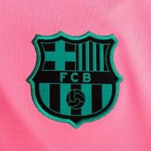 Комплект взрослой третьей формы Барселоны 2020-2021 герб клуба