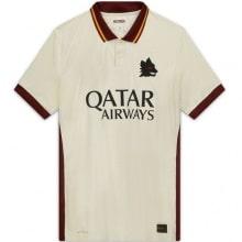 Гостевая аутентичная футболка Ромы 2020-2021