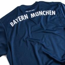 Гостевая футболка Баварии 2017-2018 сзади