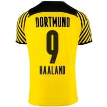 Домашняя футболка Боруссии Дортмунд 2021-2022 Холанн