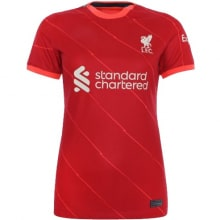 Женская домашняя футболка Ливерпуля 2021-2022