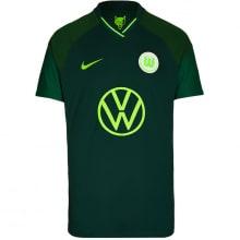 Гостевая игровая футболка Вольфсбурга 2021-2022