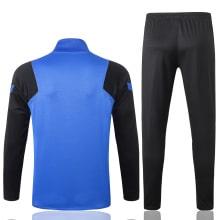 Черно-синий тренировочный костюм Интера 2021-2022 сзади