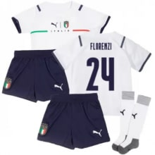 Детская четвертая форма Италии Флоренци ЕВРО 2020-21