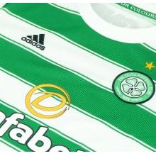 Домашняя игровая футболка Селтик 2021-2022 логотипы