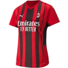 Домашняя женская футболка Милан 2021-2022