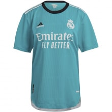Третья аутентичная футболка Реал Мадрид 2021-2022