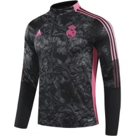 Черно-розовый костюм Реал Мадрид 2021-2022 кофта