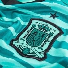 Вратарская футболка сборной Испании на ЧМ 2018 логотип