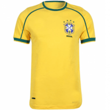 Домашняя ретро футболка сборной Бразилии 1998