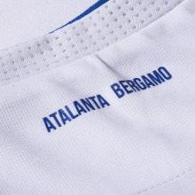 Комплект взрослой гостевой формы Аталанта 2020-2021 футболка воротник сзади