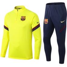 Желто-синий спортивный костюм Барселоны 2021-2022