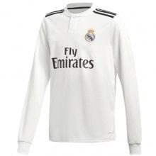 Домашняя майка Реал Мадрид с длинными рукавами 2018-2019