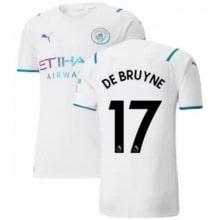 Гостевая футболка Манчестер Сити 21-22 Де Брёйне