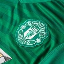 Вратарская домашняя футболка Манчестер Юнайтед 2018-2019 герб клуба