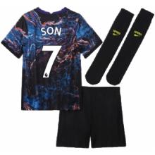 Детская гостевая футбольная форма Сон Хын Мин 2021-2022