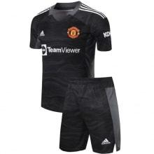 Черная вратарская форма Манчестер Юнайтед 21-22