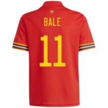Домашняя футболка Уэльса Гарет Бейл на ЕВРО 2020-21