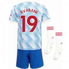 Детская гостевая футбольная форма Варан 2021-2022