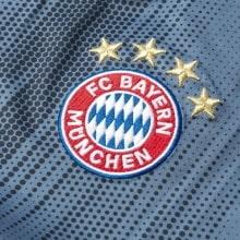 Взрослая третья футбольная форма Баварии 2018-2019 футболка герб клуба