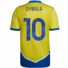 Третья игровая футболка Дибала 2021-2022