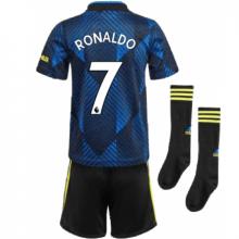 Детская третья футбольная форма Роналду 2021-2022