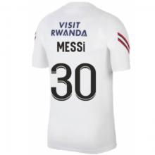 Белая тренировочная футболка MESSI ПСЖ 2021-2022