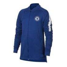 Детский синий тренировочный костюм Челси 2018-2019 кофта