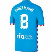 Детская третья форма Атлетико Гризманн 2021-2022 футболка