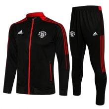 Черно-красный костюм Манчестер Юнайтед 2021-2022