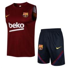 Красно-синяя тренировочная форма Барселоны 2021-2022