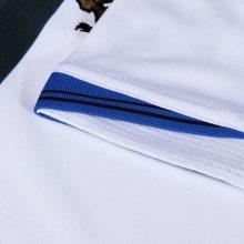 Взрослая гостевая форма Реал Мадрид 18-19 c длинными рукавами футболка титульный спонсор