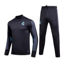 Черный спортивный костюм Реал Мадрид 2017