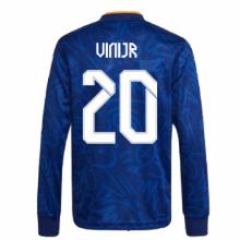 Гостевая форма Реала с длинными рукавами 2021-2022 Винисиус