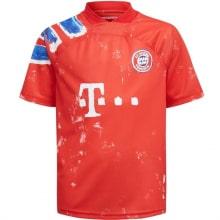 Лимитированная футболка Баварии 2020-2021 Томас Мюллер спереди