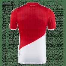 Комплект детской домашней формы Монако 2019-2020 футболка сзади