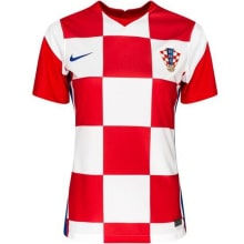 Женская домашняя футболка Хорватии на ЕВРО 2020-21