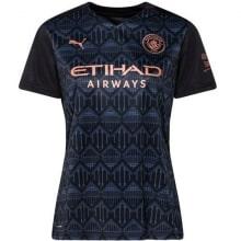 Женская гостевая футболка Манчестер Сити 2020-2021