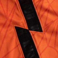 Домашняя футбольная форма сборной Голландии ЕВРО 2020 футболка шорты и гетры сбоку
