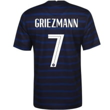Домашняя футболка сборной Франции на ЕВРО 2020-21 Гризманн