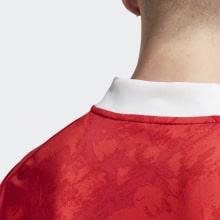 Детский комплект домашней формы России на ЕВРО 2020 футболка воротник сзади