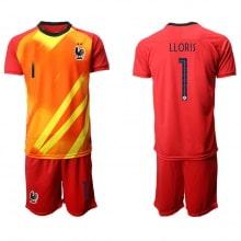 Детская красная форма Франции LLORIS на ЕВРО 2020