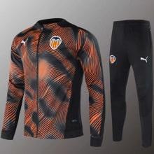 Оранжевый тренировочный костюм Валенсия 2020-2021