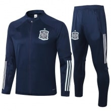 Синий костюм сборной Испании по футболу 2020-2021